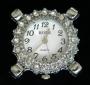 Часы  с кристаллами #02582