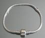 Браслет Пандора 18 см посеребрение 925(Pandora Style)#02585