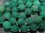 Бусина Агат Кракле Зеленый 8мм  #02587