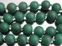 Бусина Агат Матовая Зеленый10мм  #02589