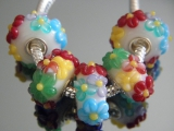 Бусина Пандора( Pandora Style) Lampwork #02745