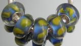 Бусина Пандора( Pandora Style) Lampwork #02639