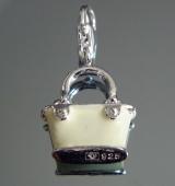 Подвеска сумочка желтая на браслет #02829