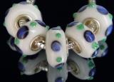 Бусина Пандора( Pandora Style) Lampwork #00253