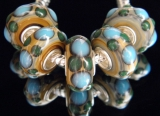 Бусина Пандора( Pandora Style) Lampwork #02605