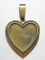Кулон Сердце для фотографий #02878