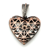 Кулон Сердце для фотографий #02881