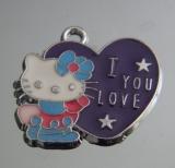 Подвеска Кити с сердечком #02888/1