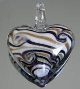 Кулон Лэмпворк Сердце #01348