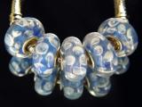Бусина Пандора( Pandora Style) Lampwork #02753