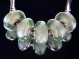 Бусина Сердечки Пандора (Pandora) Lampwork #00259