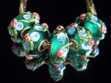 Бусина Пандора( Pandora Style) Lampwork #02612