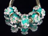 Бусина Пандора( Pandora Style) Lampwork #02750