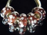 Бусина Пандора (Pandora) Lampwork #00290