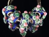 Бусина Пандора( Pandora Style) Lampwork #02776