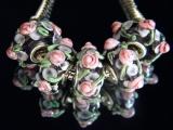 Бусина Пандора( Pandora Style) Lampwork #02779