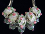 Бусина Пандора( Pandora Style) Lampwork #02614
